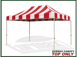 10x15-Carnival-Replacement-Canopy-Top (Select-Color-Red/White).