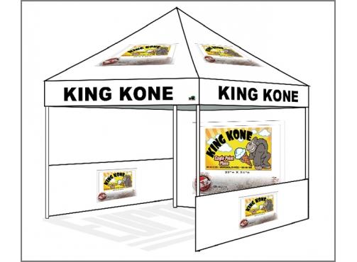 sc 1 st  eurmax.com & 10x10 Custom Canopy Booth KING KONE C623