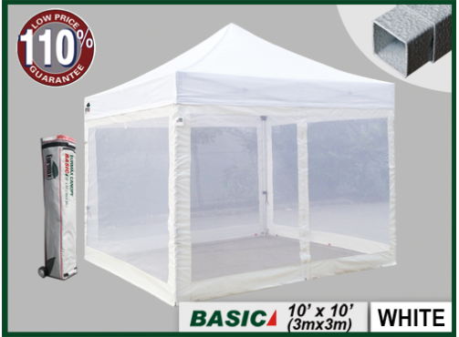 10x10 Canopy Sides & EZ POP UP Canopy Sidewalls (Set Of 4
