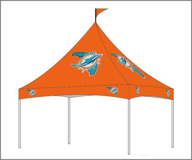 10x10 Custom Marquee Canopy C2883