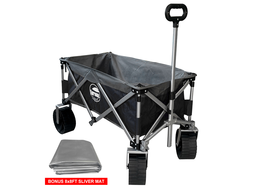 Eurmax Wagon Is A Perfect Utility Wagon Cart For Garden