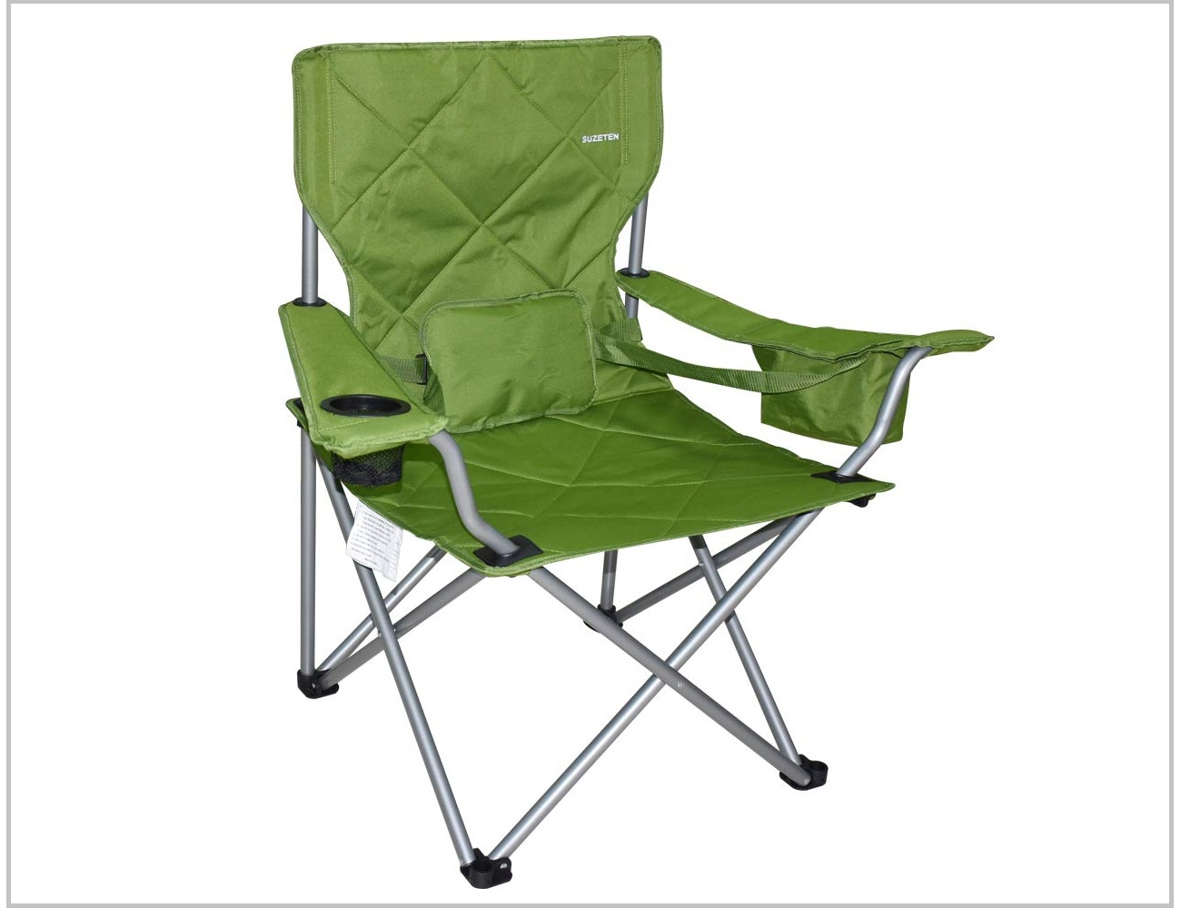 Pleasing Suzeten Oversized Folding Camping Chair Is The Best Great Dailytribune Chair Design For Home Dailytribuneorg