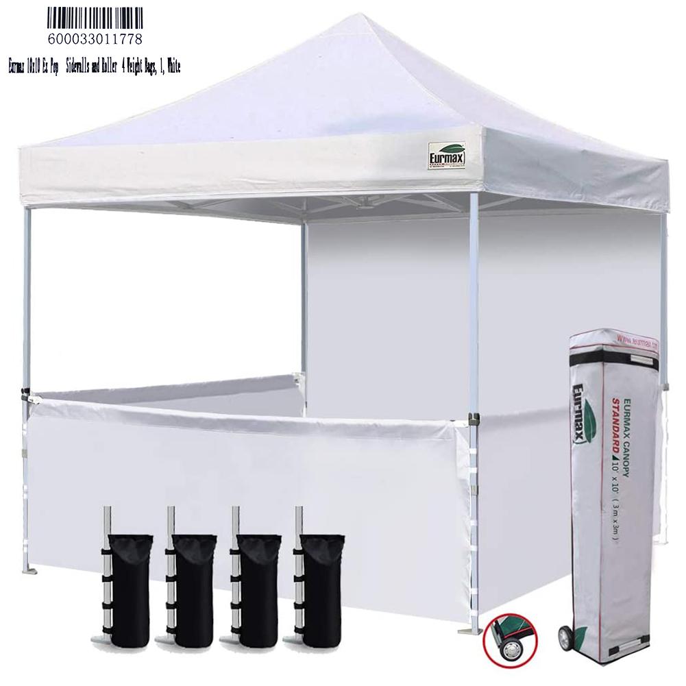 Eurmax 10 X10 Ez Pop Up Booth Canopy